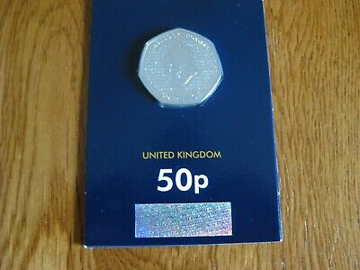 2019 Sherlock Holmes Fifty Pence 50p Coin Brilliant Uncirculated BU UK