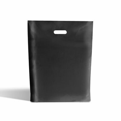 Black Classic Plastic Carrier Bags [Standard Grade]