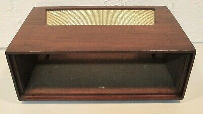 DYNACO VINTAGE WOOD CASE CABINET fits PAS PREAMP & OTHERS