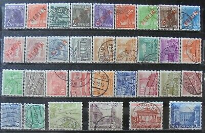 GERMANY (Berlin) 1948-49 Excellent Collection of 33 Used