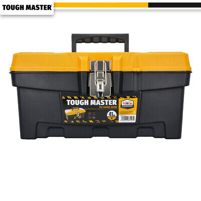Tool Box Tough Master 16 inch / 41cm With Tray & Compartment Organiser
