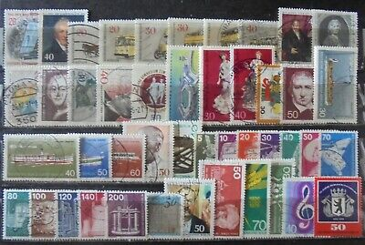 GERMANY (Berlin) 1972-76 Excellent Collection of 45 Used