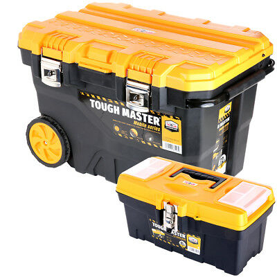 Tool Chest Tough Master Professional Mobile 28'' on Wheels With 16'' Tool Box
