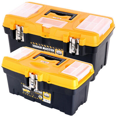 Tool Box Tough Master Combo Pack 16 & 19 inch With Compartment Organiser