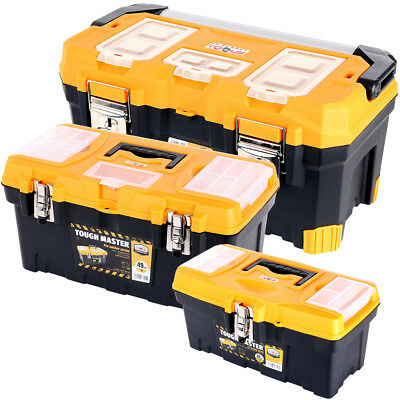 Tool Box Tough Master Triple Pack 16, 19 & 22 inch With Compartment Organiser