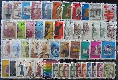 GERMANY (Berlin) 1967-70 Excellent Collection of 50 Used