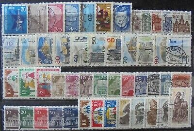 GERMANY (Berlin) 1963-67 Excellent Collection of 49 Used