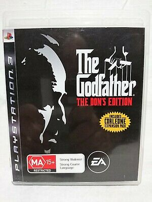 Not Working *** The Godfather The Don's Edition Ps3 *** Not Working - Complete