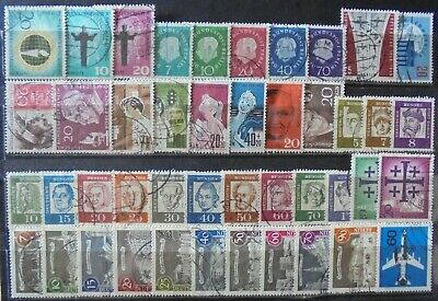 GERMANY (Berlin) 1957-62 Excellent Collection of 44 Used