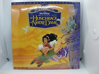 Walt Disney THE HUNCHBACK OF NOTRE DAME Widescreen Laserdisc BRAND NEW SEALED