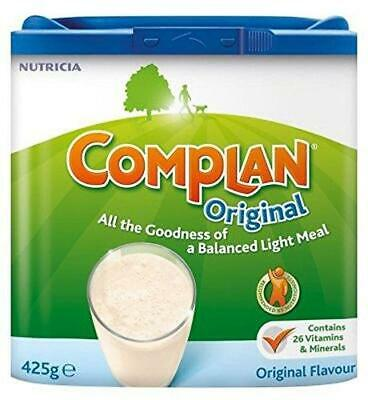 Complan Original Vanilla  Large Nutrition Supplement Protein Energy Drink 425g