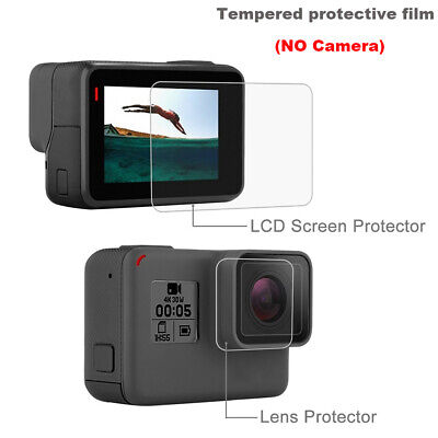 Waterproof Tempered Glass Protector HD Film LCD Screen Camera Lens Cover
