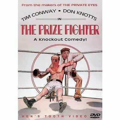The Prize Fighter (DVD, 2003) RARE DON KNOTTS TIM CONWAY 1979 COMEDY BRAND NEW