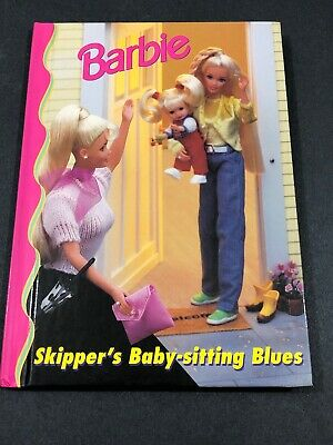 Barbie And Friends Book Club - Skippers Babysitting Blues HC Illustrated   4-8