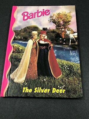 Barbie And Friends Book Club - The Silver Deer HC Picture Chapter Book 4-8 VTG
