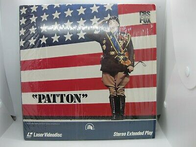 Patton *LIKE NEW* (Laserdisc) 2-disc SPECIAL Widescreen Edition