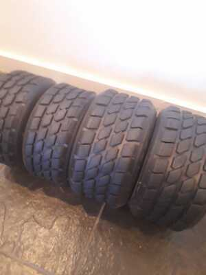 Dunlop Wet Slick Go Kart Tyres for Sale: Honda, Cadet, Clubman