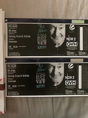 Phil Collins, 2 Tickets, Hannover, 15.06.2019