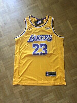 Lebron James Los Angeles Lakers Taille M Nba Nike