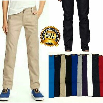 Boys Skinny stretch Jeans **Many Colors Available**