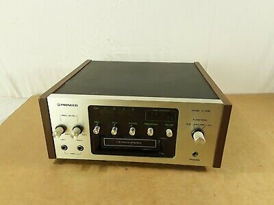 Vintage Pioneer Model H-R99 8 Track Player Tested Read Description