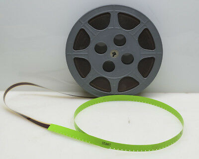 16mm Film: 'Toast', 500', on PlasticReel in Film Shipping Container