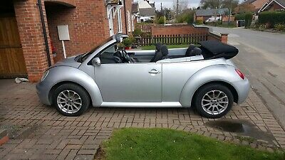 VW BEETLE Convertible Cabroilet 2004 1.9 TDI Silver