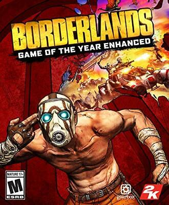 Borderlands - Game of the Year Edition PS4 2019 - Physical Edition. SHIPS TODAY