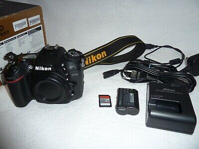 Nikon D7100 Digital SLR camera body 24MP HD vgc batt charger box 12341 shots