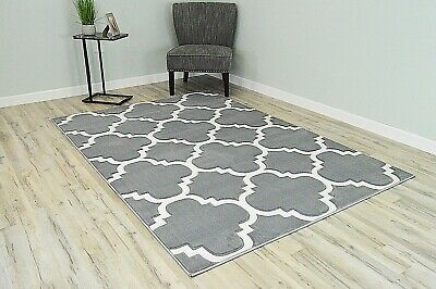 PREMIUM 3D Effect Hand Carved Thick Modern Contemporary Abstract Area Rug 4518