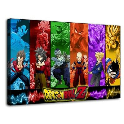 Dragon Ball Z Picture HD Canvas Prints Paintings Home Room Decor Wall art Poster