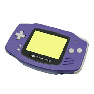 Coque de remplacement violet / indigo pour Nintendo Game Boy advance GBA Gameboy
