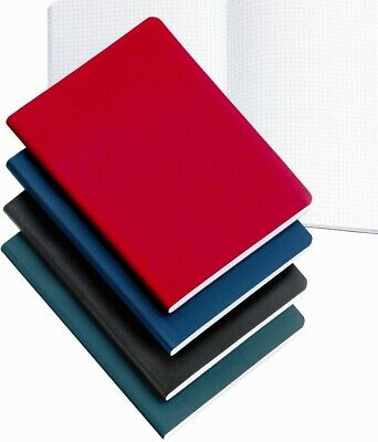Miquelrius Blue Leather-look 200 sheet Graph Notebook 4x6