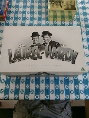 Laurel & Hardy - The Collection (21-disc Box Set) [DVD] -  CD E8VG The Fast Free