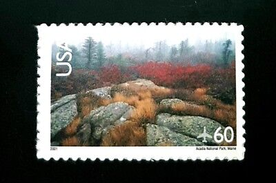 2001 US Airmail Stamp C138! Mint MNH! Acadia National Park!