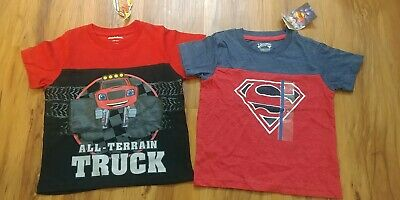 Toddler Boys Shirts 2T Blaze and the Monster Machines/Superman