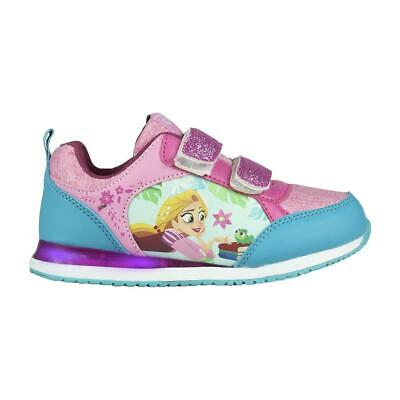 Tangled Kids Led Light Sneakers Shoes Trainers Original Licensed Tangled Flas...