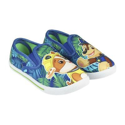 Paw Patrol Chase&Rubble Kids  Slip-on Shoes Trainers Sneakers Original Licens...