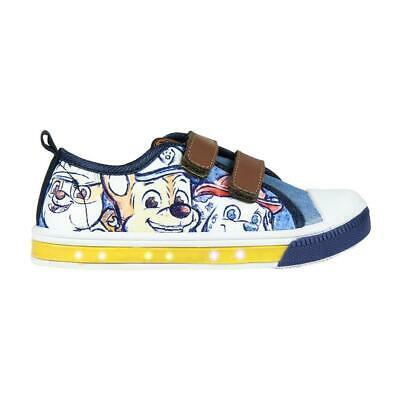 Paw Patrol Led Light Kids Shoes Trainers Sneakers Original Licensed Paw Patro...