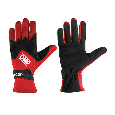 OMP KS-4 red Gloves s. Gloves- 5