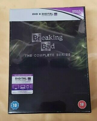Breaking Bad The Complete Series Collection DVD 21 Disc Box Set Brand New Sealed