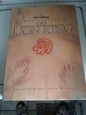 Walt Disney The Lion King Exclusive Deluxe Video Edition