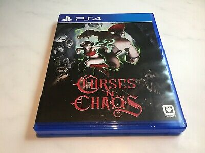 Curses 'N Chaos (PS4) Limited Run Games - excellent condition!