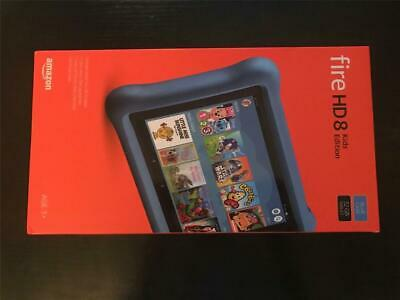 Amazon Kindle Fire HD 8 Kids Edition Tablet (2018) - 32GB Blue (Latest)
