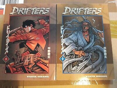 Drifters Manga Volumes 1-2 English Collection