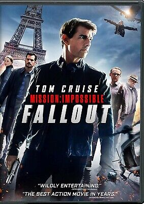 Mission: Impossible - Fallout (DVD, 2018) * Tom Cruise, Rebecca Ferguson