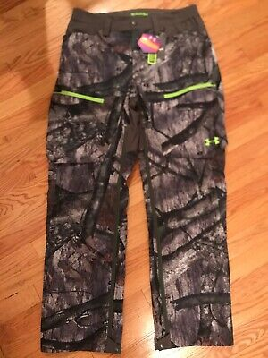 f98fb031b6058 Under Armour CGI Scent Control SoftShell Pants Mossy Oak Treestand  1259186-905 L