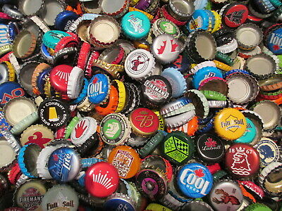 100 Beer Bottle Caps (( No Dents )) Good Mixture of Beer Caps