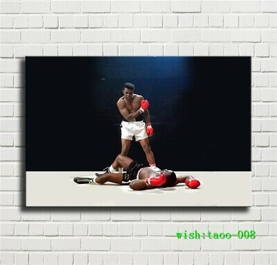 Muhammad Ali Boxer Canvas HD Prints Painting Wall Art Home Decor 24x36 inch