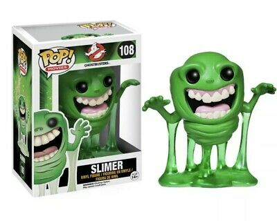 Ghostbusters (1984) #108 Slimer Funko Pop! VAULTED!!